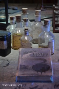In the Potions Classroom